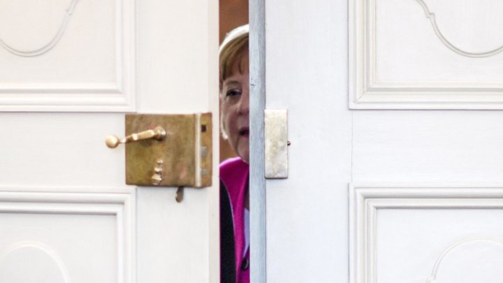 German Cabinet meets in Meseberg, Gransee, Germany - 11 Apr 2018